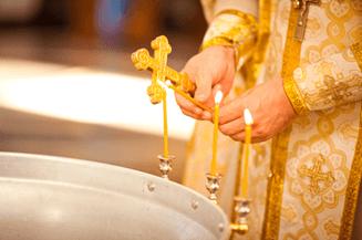 Таинство Крещения совершается для входа в Лоно Церкви, грех очищается по благодати