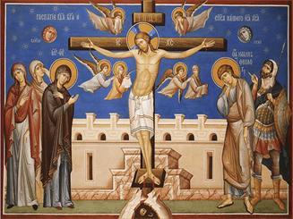 Наказание за грех Крест - Символ веры